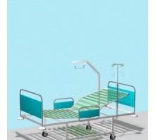 Кровать AT-K6 — Металл в полимере